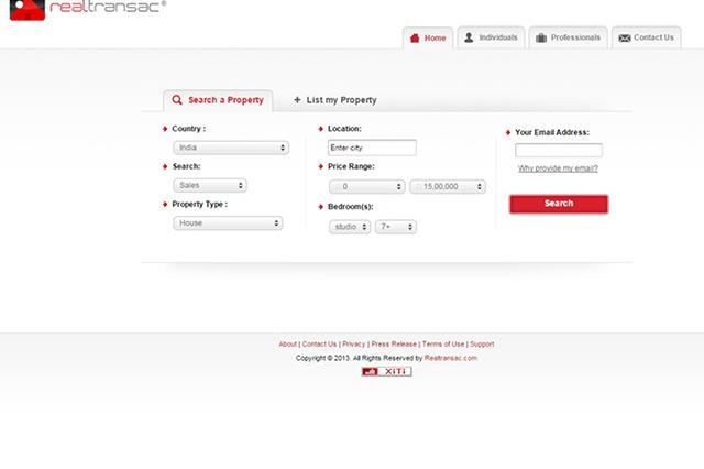 sites internet web realtransac
