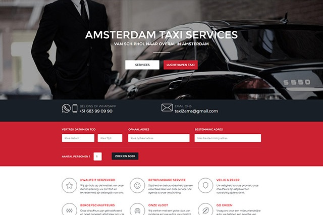 sites internet web taxiamsterdammer