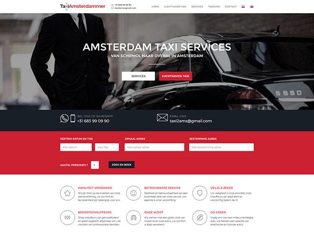 sites internet web taxiamsterdammer