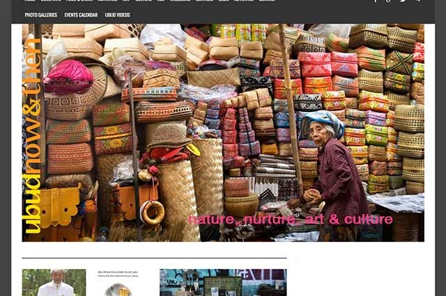 sites internet web ubud now and then